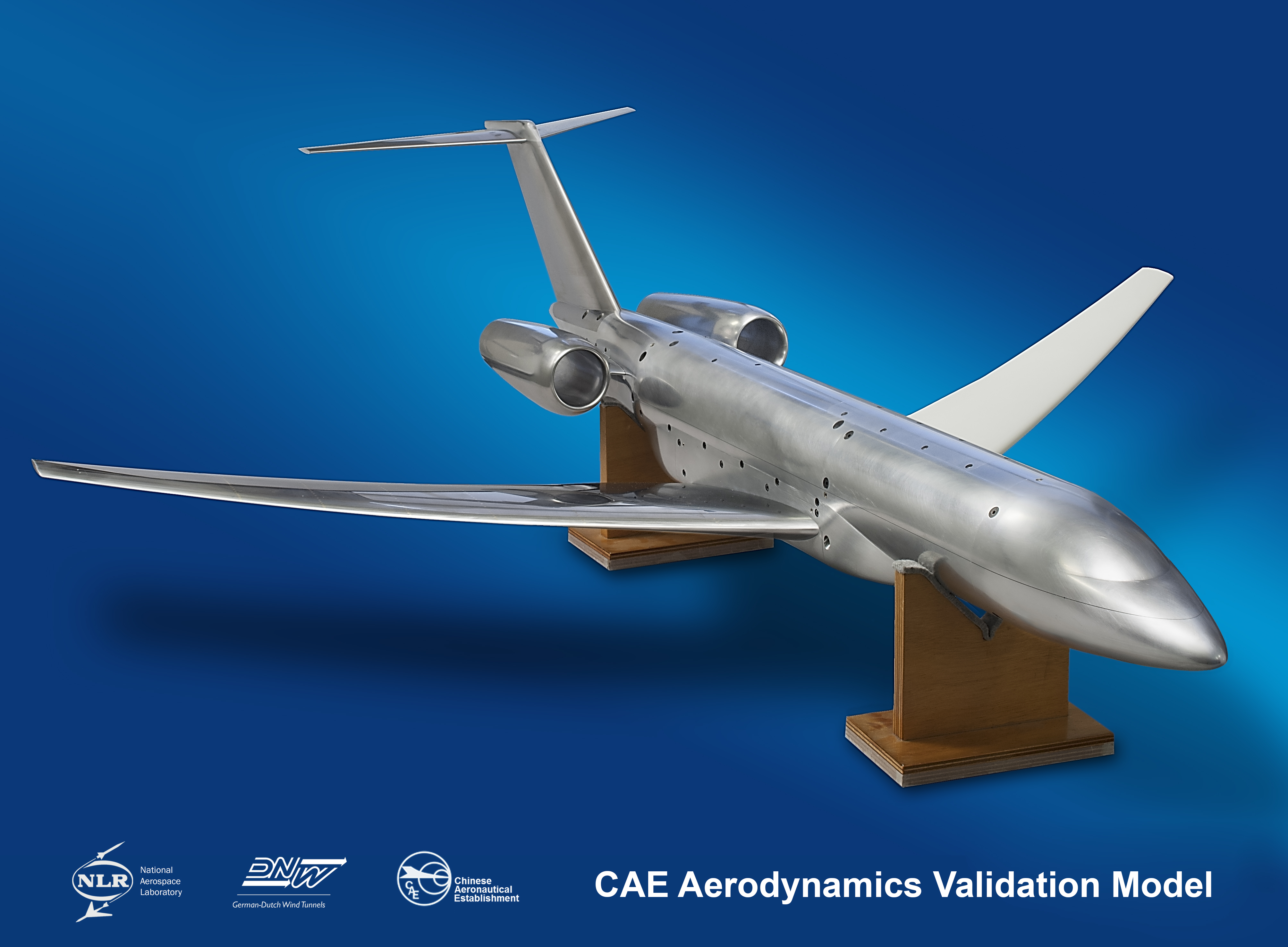 Impression of the CAE-AVM wind tunnel model